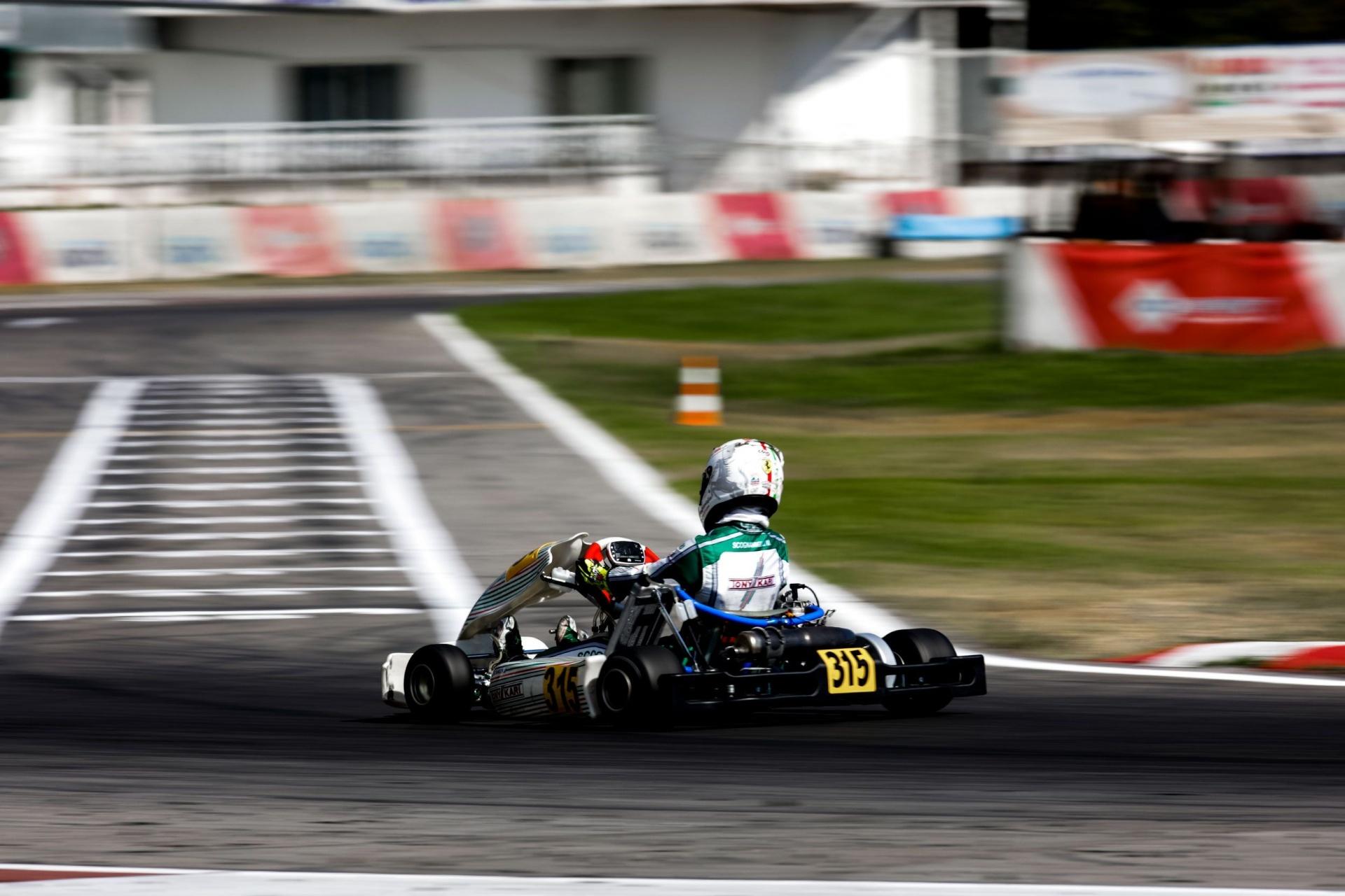 Gamoto a Siena per il terzo round dell'ACI Karting