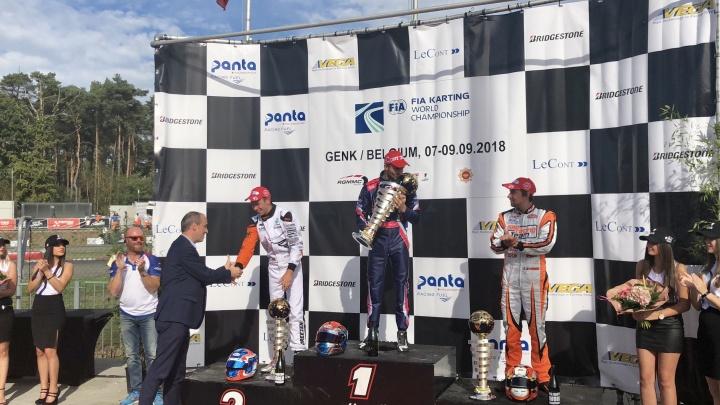 CIK World Cup - Hajek trionfa in KZ, la KZ2 è di Viganò