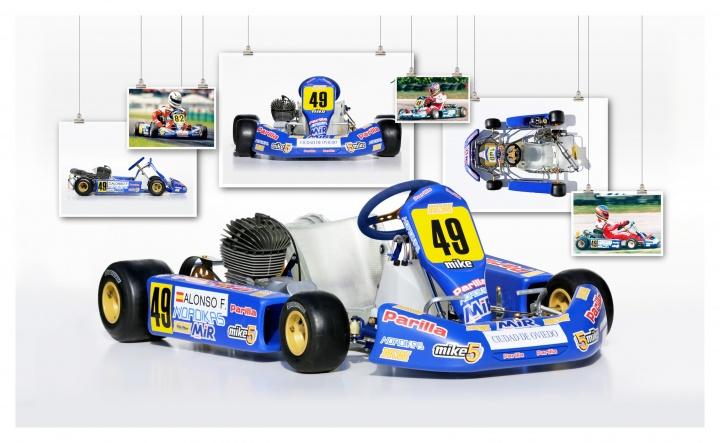 Kart leggendari - MW/Parilla, Fernando Alonso