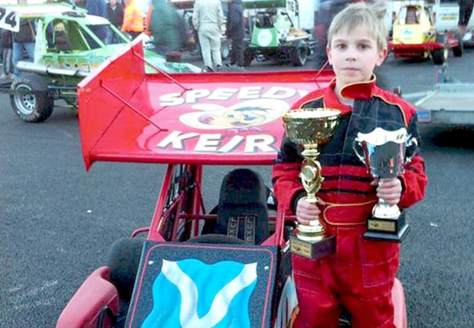 L'11enne Keir Millar muore in Mini Stock Car