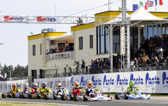 WSK CHAMPIONS CUP A MURO LECCESE (LE) - CLASSIFICA FINALE