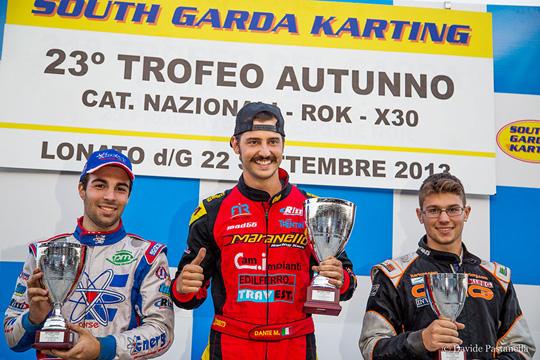 Al South Garda Karting una serie di belle gare per la prima del 23° Trofeo d'Autunno