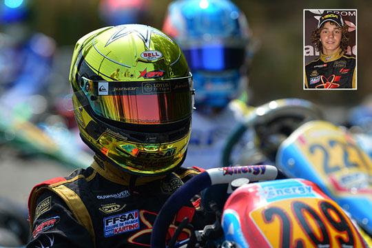 Anche Dorian Boccolacci a Lonato per la 4. prova del Campionato Italiano CSAI Karting al debutto in KZ2