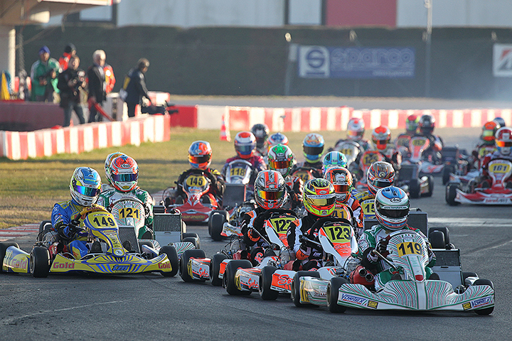 22a Winter Cup con 290 piloti, 90 in KZ2!