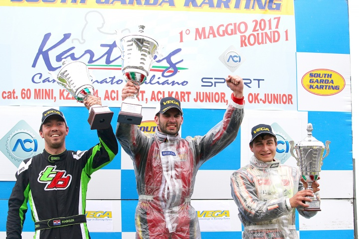 LE CLASSIFICHE DEL CAMPIONATO ITALIANO ACI KARTING DOPO LONATO