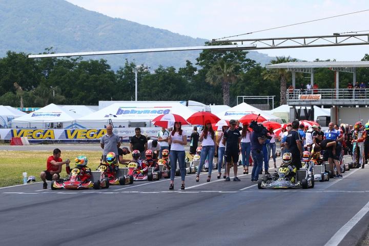 Al Circuito del Sele di Battipaglia la terza prova del Campionato Italiano ACI Karting