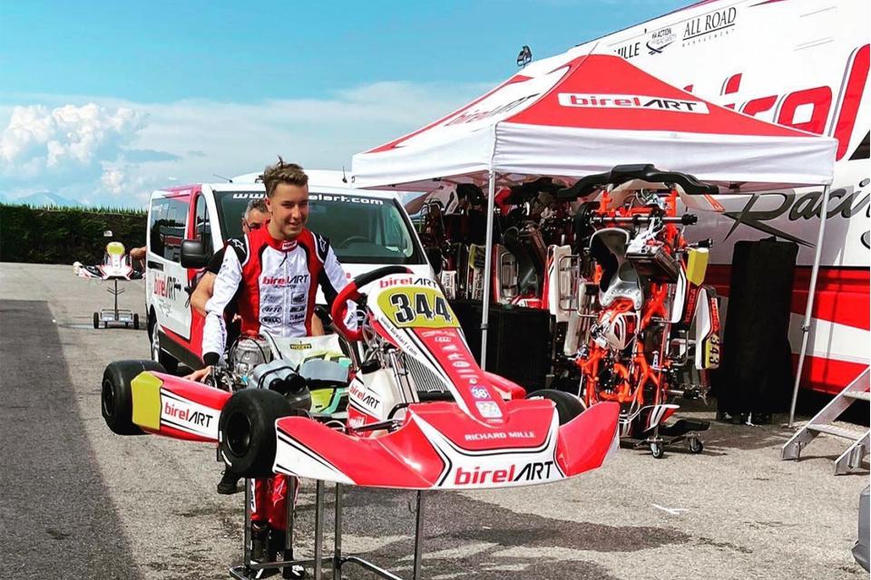 Luca Bosco si aggiunge alla line-up Charles Leclerc Kart