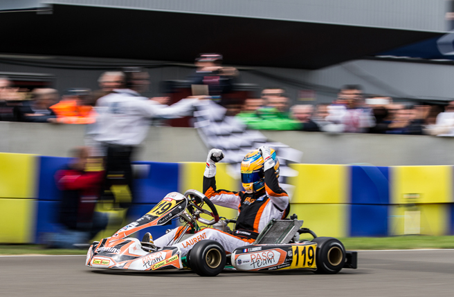 Laurent si aggiudica la Super Coppa KZ2