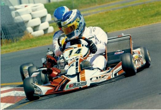 Lorenzo Foschiani guida del team ufficiale OK1