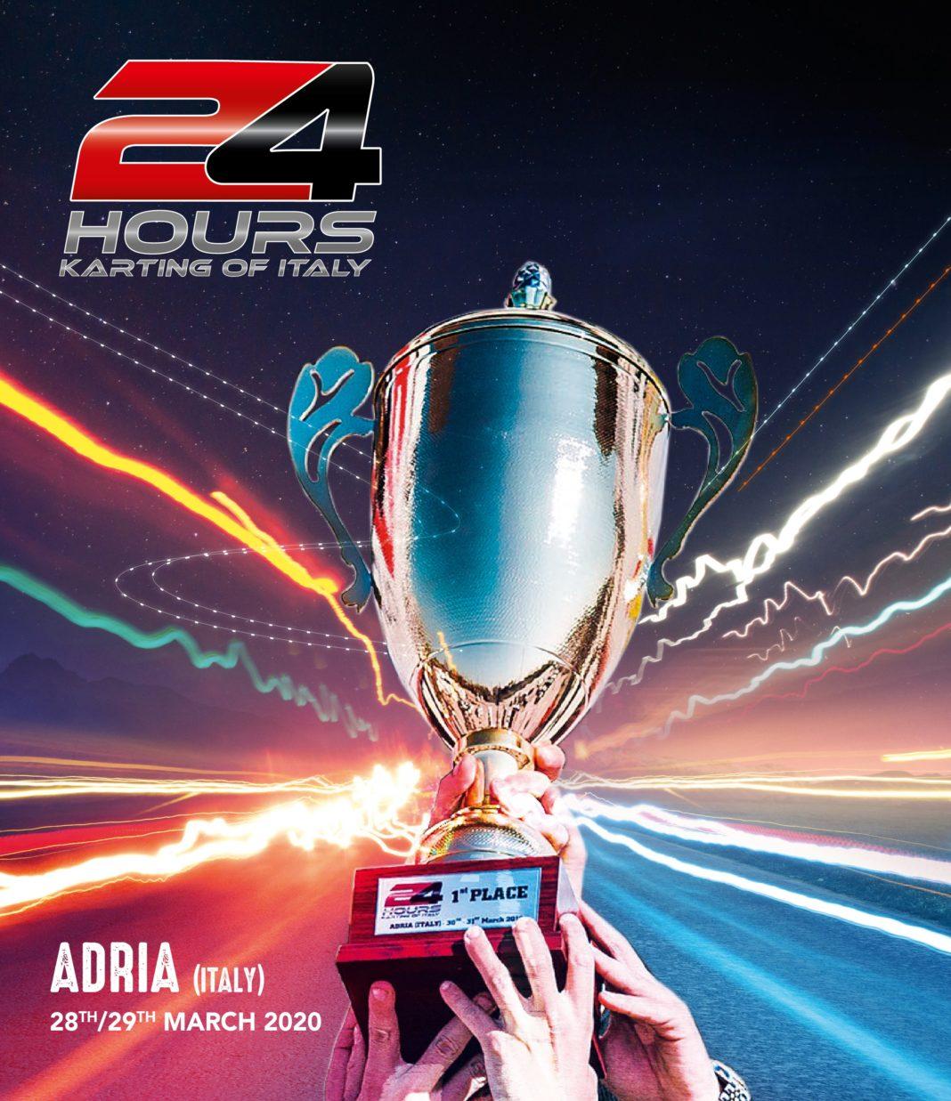 Ufficiale: La 24h Karting di CRG si svolgerà ad Adia il 17-18 ottobre