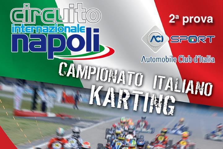 Sarno si prepara ad ospitare  il Campionato Italiano ACI Karting