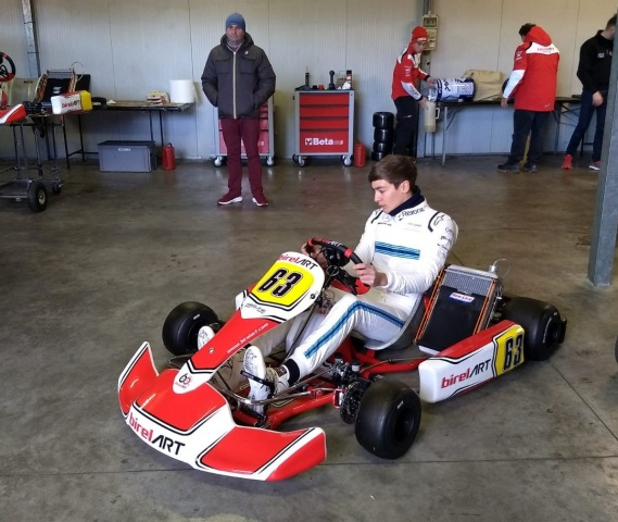 "Russell ""torna"" in kart per prepararsi alla F1"