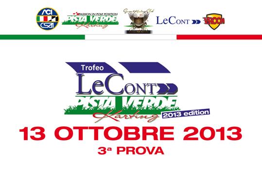 Pista Verde: Grandissima attesa per l'ultima sfida Domenica 13 Ottobre,  la gara dell'anno!
