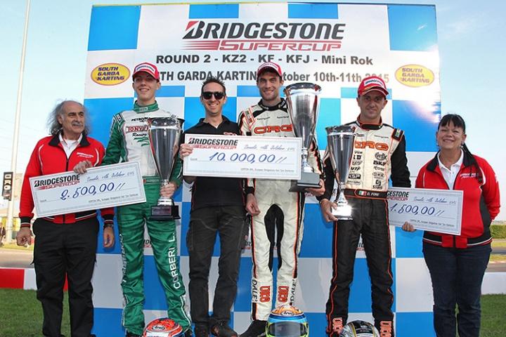 Dalé conquista la Bridgestone Supercup in KZ2