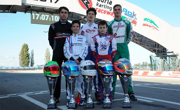La Rok Cup Italia ha i suoi 5 vincitori