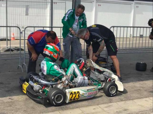 Schmitz con Renda Motorsport per il prosieguo del 2018