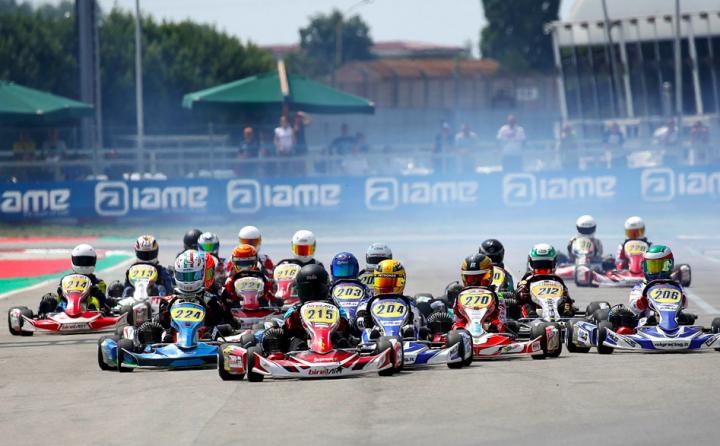 Ad Adria si è concluso il 6° round del Trofeo Easykart
