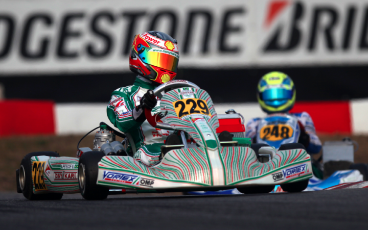 22^ Winter Cup double face per la Tony Kart