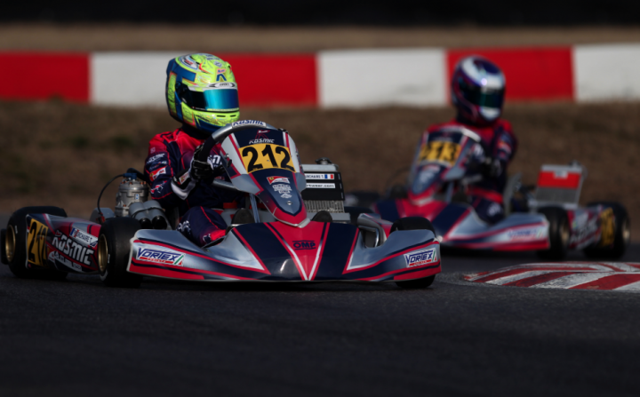 Winter Cup: pole e 3o posto in OK per il Kosmic Racing Dpt.
