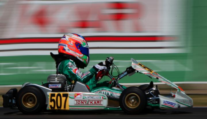 Tony Kart pronta allo sprint finale a Sarno