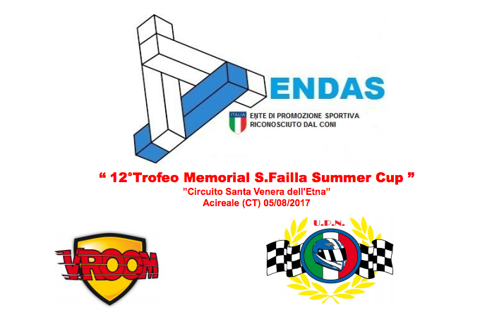 "Il 12°Memorial Salvo Failla ""Summer Cup"" in notturna ad Acireale (CT)"