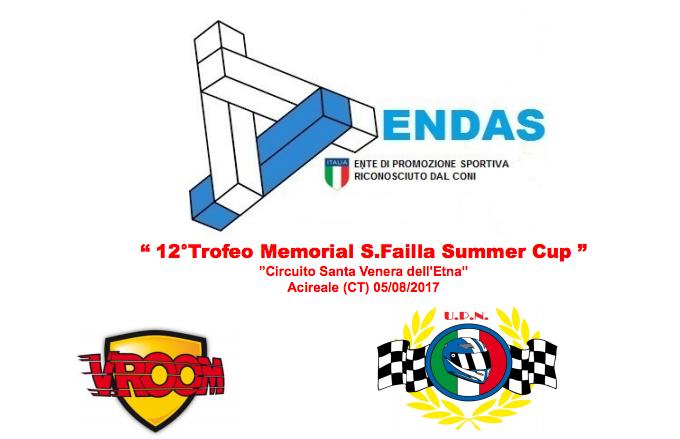 "Il 12°Memorial Salvo Failla ""Summer Cup"" in notturna ad Acireale (CT)"