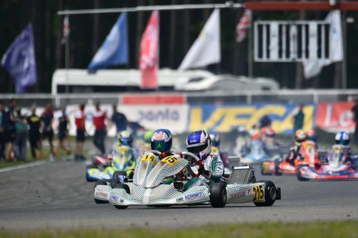 Podio europeo per il Racing Team a Genk in OKJ