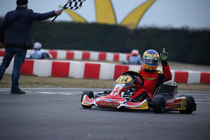 Al francese Gonzalez (KZ2) la prima prova del 28° Trofeo di Primavera