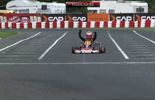 Europeo KZ. Finale, Verstappen, di un altro pianeta