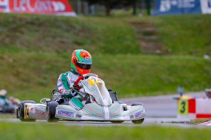 Viganò pole e podio all'esordio dell'Europeo KZ