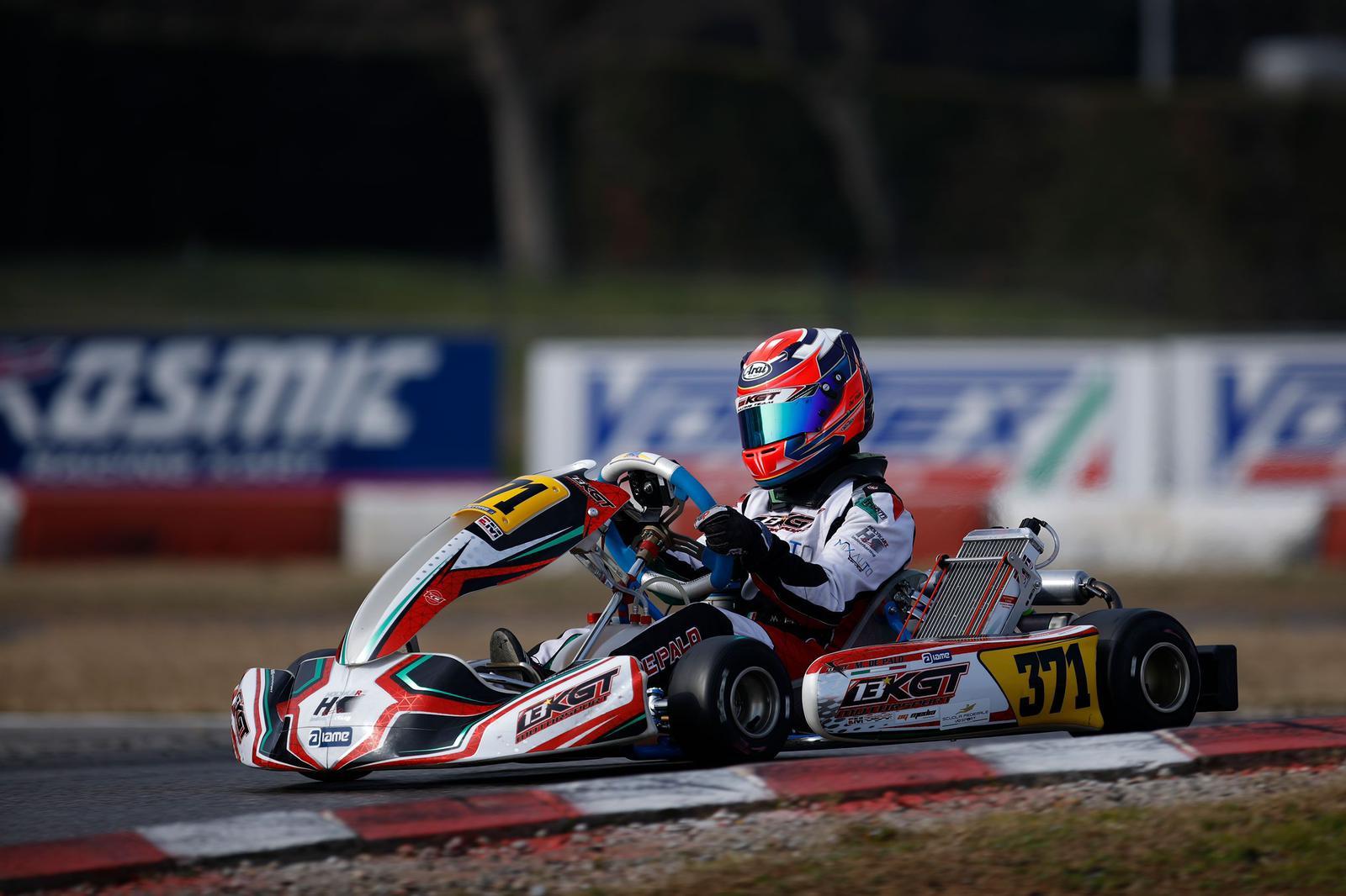 Matteo De Palo, speranza italiana per l'Academy Trophy