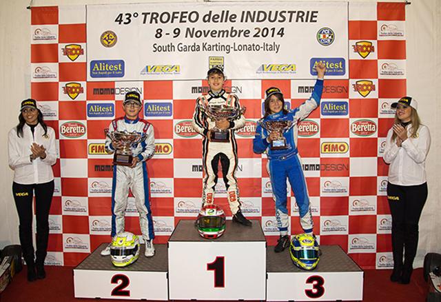 Leonardo Marseglia si aggiudica l'assoluto nel 43° trofeo delle Industrie