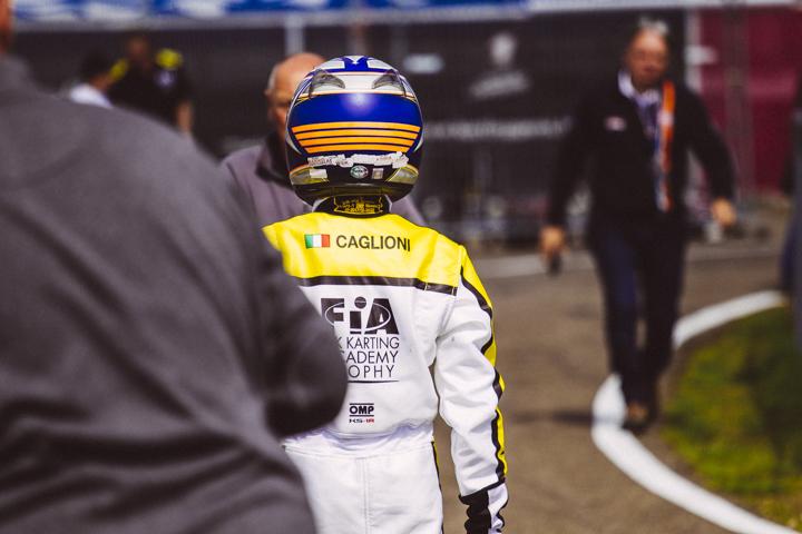 L'italiano Caglioni pronto per la seconda prova della Karting Academy
