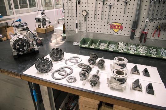 125 KK1 preparato di fabbrica