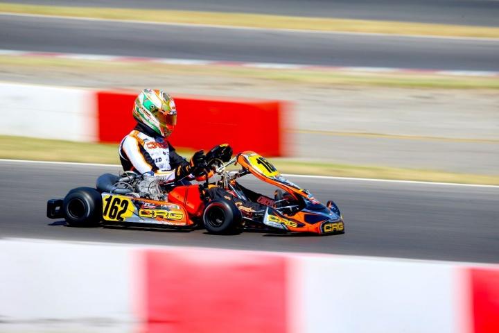 Weekend positivo per Paolo De Conto in KZ2 nella WSK Euro Series di Lonato