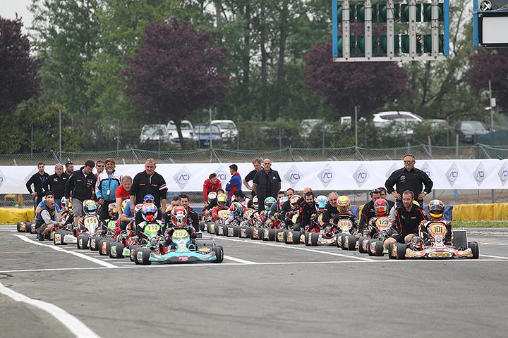 Anticipate le due tappe di Sarno e Battipaglia del Campionato Italiano ACI Karting 2017