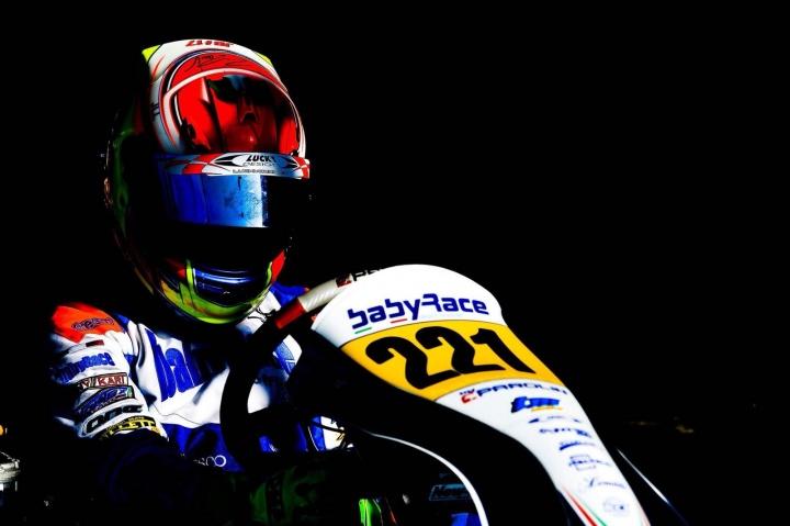 Lorenzo Ferrari pronto al rientro nell'Italiano ACI Karting