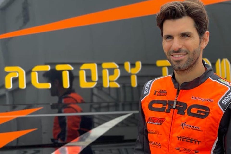 Jaime Alguersuari dovrà dare forfait alla 1a prova del Campionato Europeo KZ