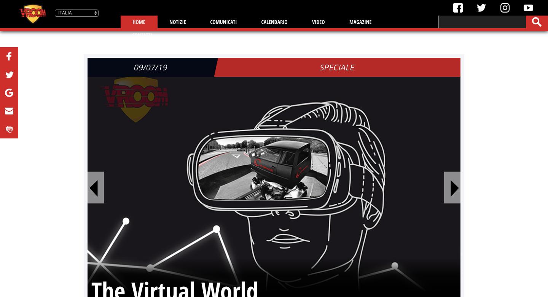 Vroom si rifà il look, ecco il nuovo sito web!