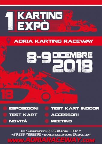 Danilo Rossi pronto per fine anno, ecco il 1° Karting Expo