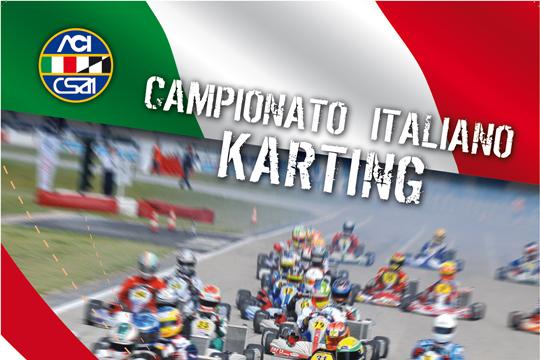 DOPO LA PRIMA PROVA, CAMBIA IL CALENDARIO DEL CAMPIONATO ITALIANO ACI-CSAI KARTING