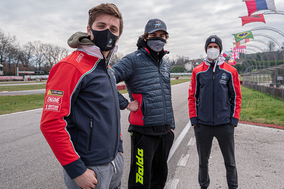 """I piloti di Moto 2 """"pazzi"""" per il KZ"""
