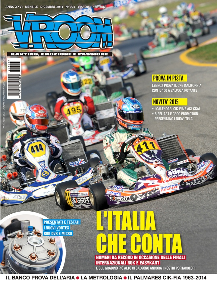 Cover Vroom Italia 304