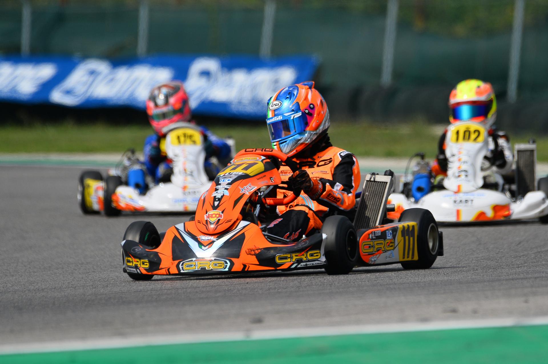 Weekend di bagarre per i ragazzi NGM Motorsport nell'ultimo round IAME Series