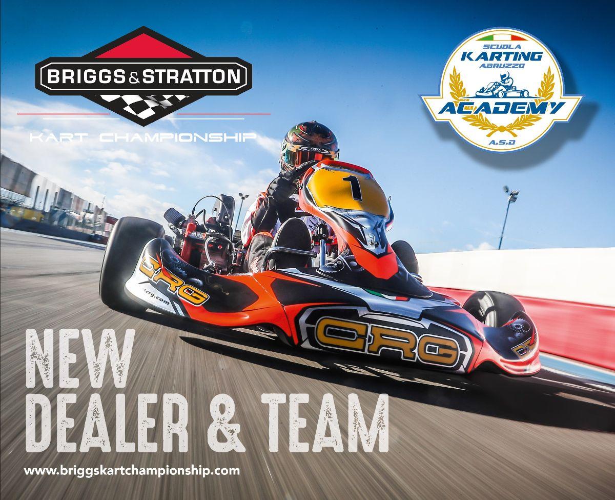 Scuola Karting Abruzzo Academy nuovo rivenditore eTeam Briggs Kart