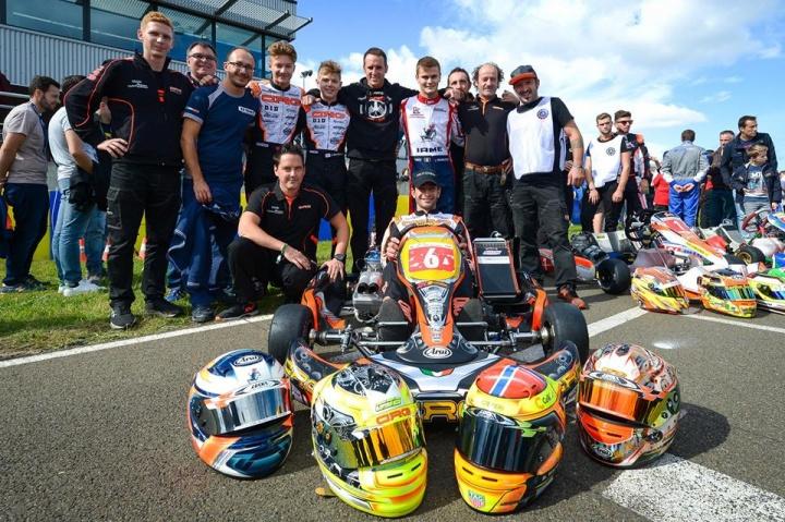 Il factory team CRG al top nella 24 ore di Le Mans