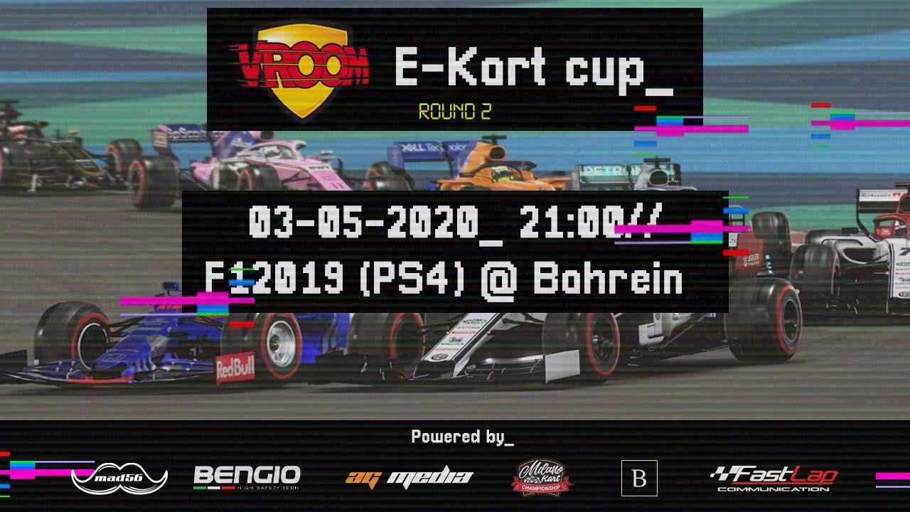 """Vroom e-Kart Cup, di nuovo """"in pista""""!"""