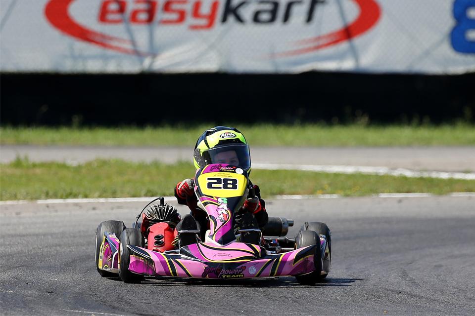 GirlPower nel Trofeo Easykart