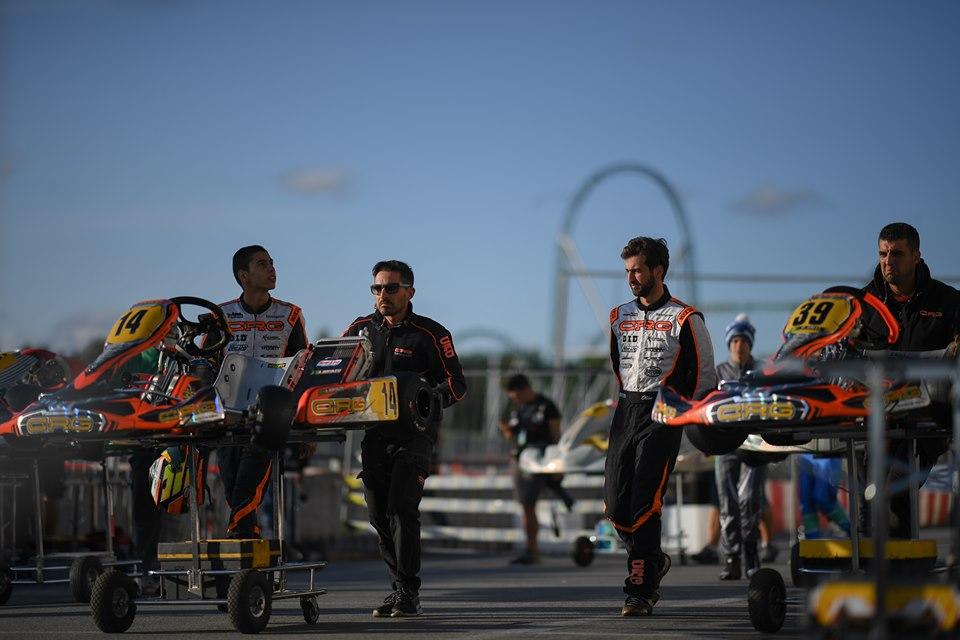 Piloti CRG competitivi ma sfortunati nel Campionato del Mondo OK e OKJ