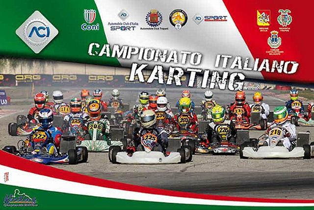 Il programma di Triscina per il Campionato Italiano ACI Karting